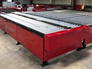 AutoFold FabriFlange with U Transfer Tables