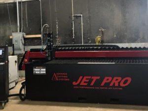 Jet Pro 510 Bellows Abrasive Waterjet
