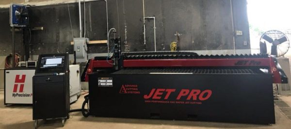 Jet Pro 510 Bellows Abrasive Waterjet
