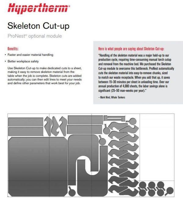 Pro Nest Skeleton Cut up